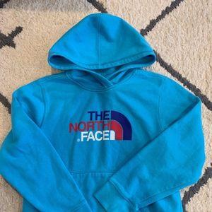 Girls North Face Hoodie Sweatshirt Size L 14/16